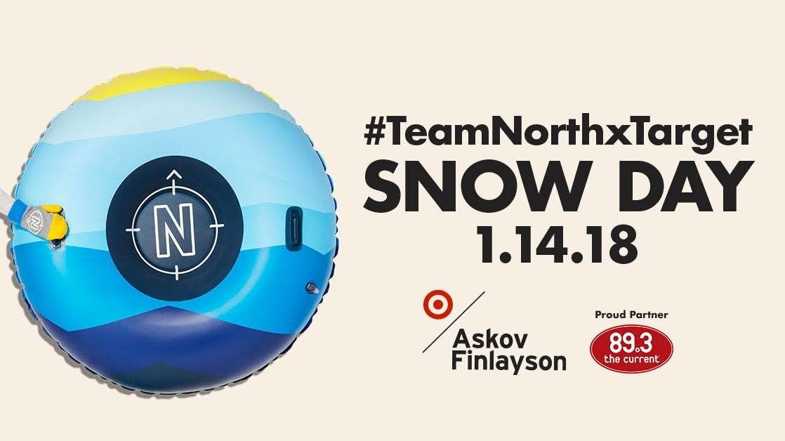 TeamNorthxTarget Snow Day