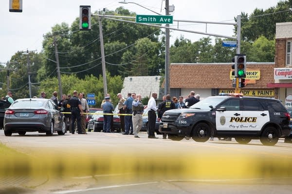 Officer shooting