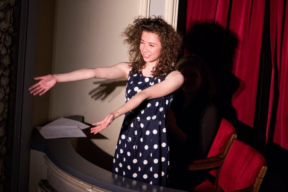 Showcase round composer Riona Ryan
