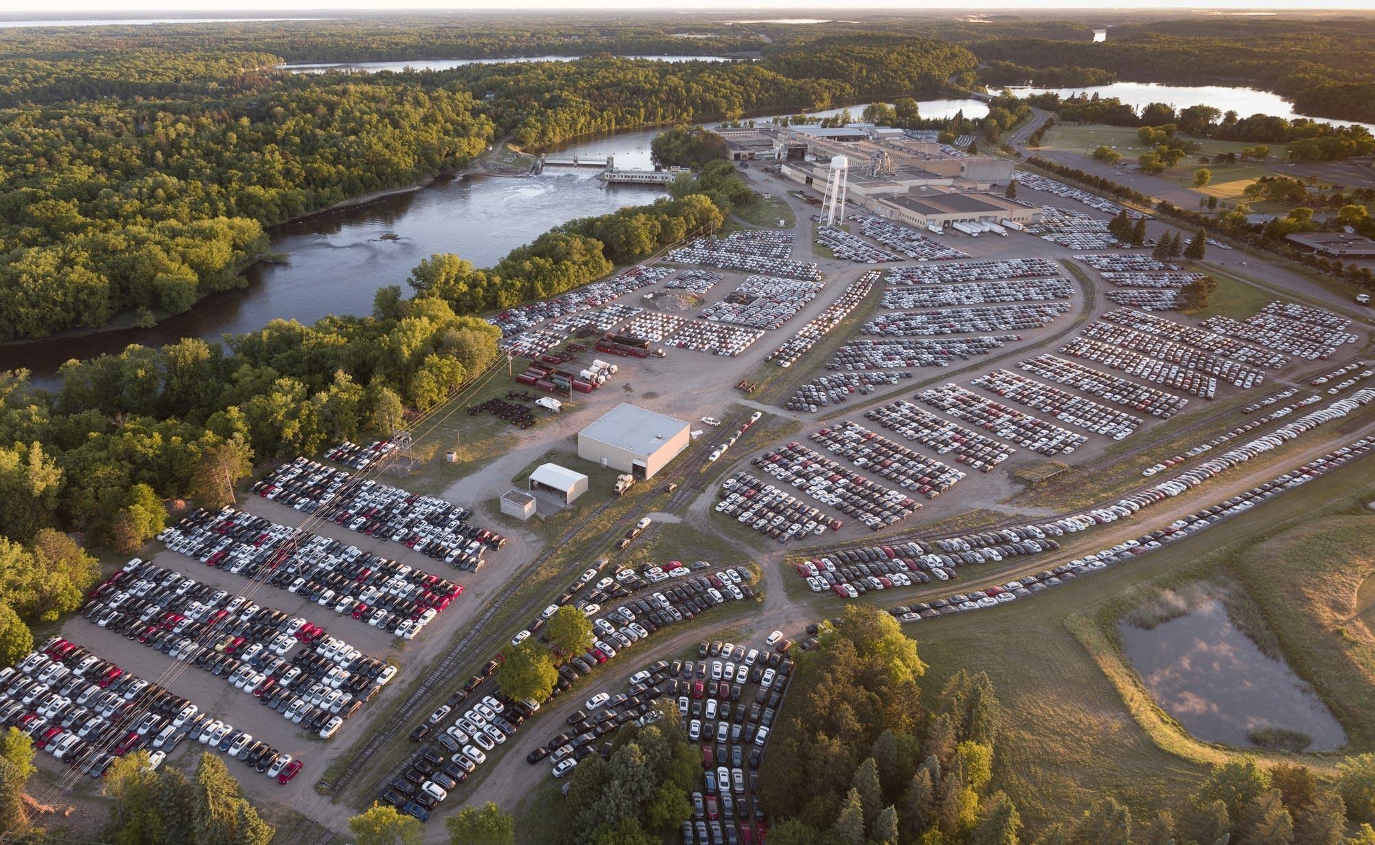 fate  thousands  recalled volkswagens stored  brainerd worries neighbors mpr news