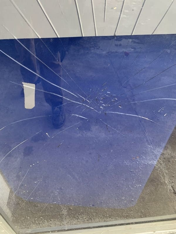 Vandalism at the Darul Iman mosque in St. Paul