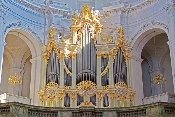 1755 Silbermann-Hildebrandt/Hofkirche, Dresden