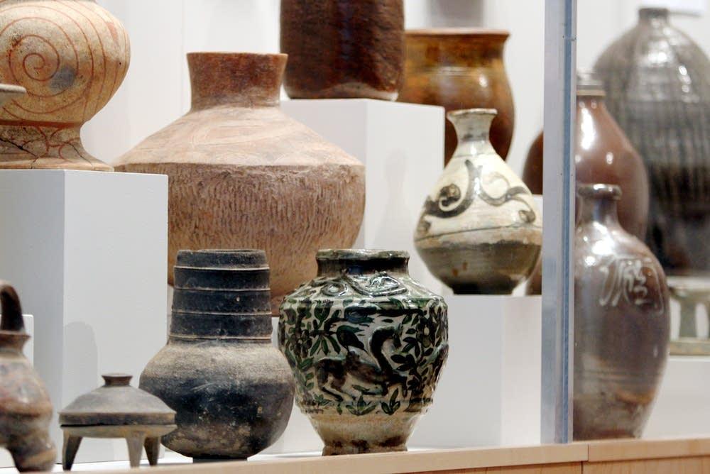 Ceramics display
