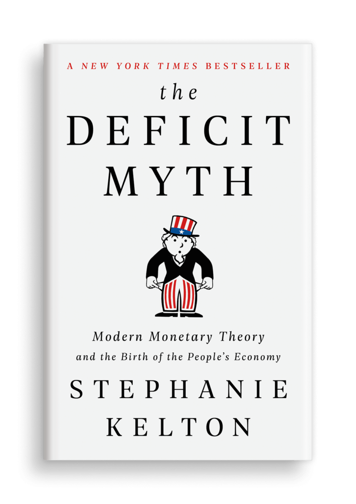 Book cover of 'The Deficit Myth'