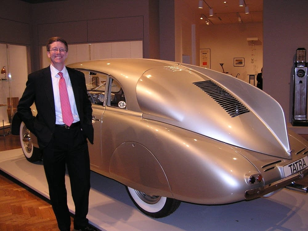 Griswold with car