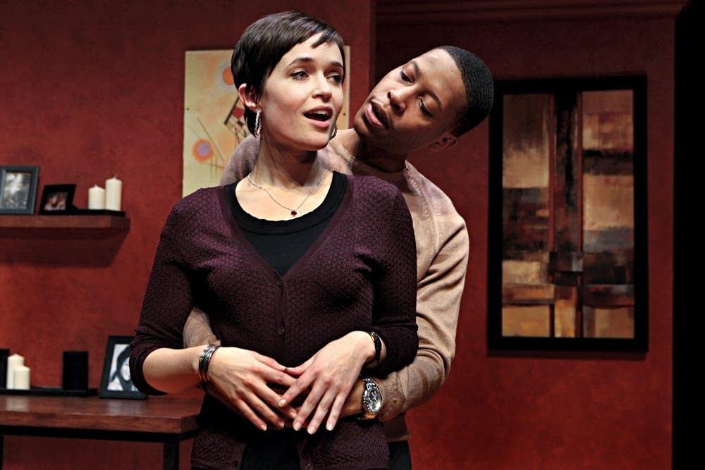 Pillsbury House Theatre actors in 'Buzzer'