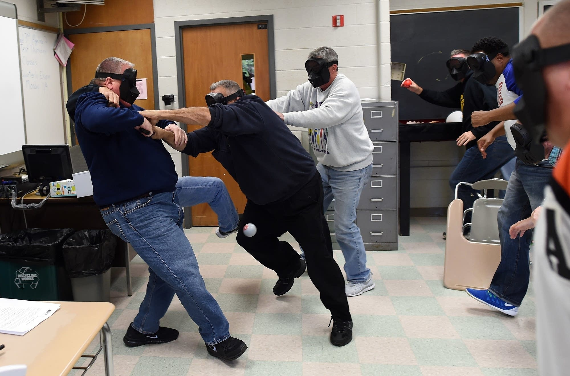 is the trauma of training for a school shooter worth it apm reports