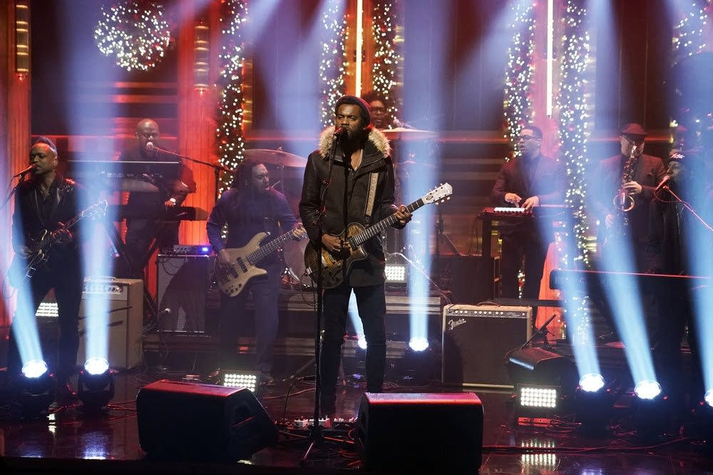 Gary Clark Jr performs on 'The Tonight Show Starring Jimmy Fallon'