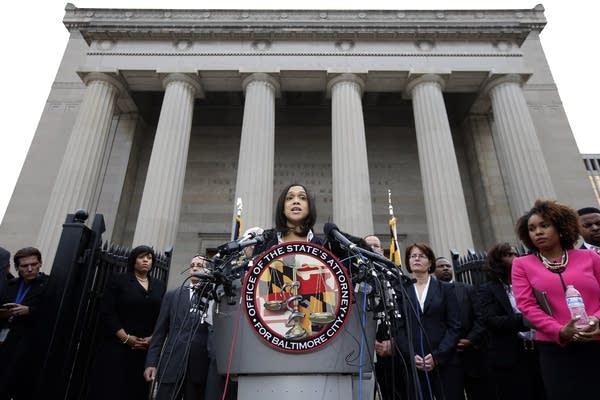 Prosecutor Marilyn Mosby