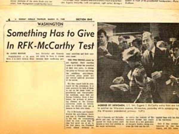 McCarthy vs. RFK