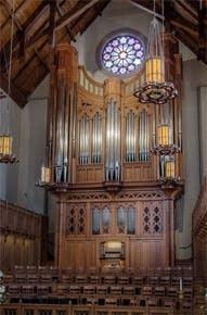 2009 Fisk organ at Covenant Presbyterian Church, Nashville, Tennessee