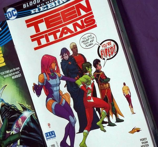 Benjamin Percy writes Teen Titans, along with Green Arrow, and James Bond.
