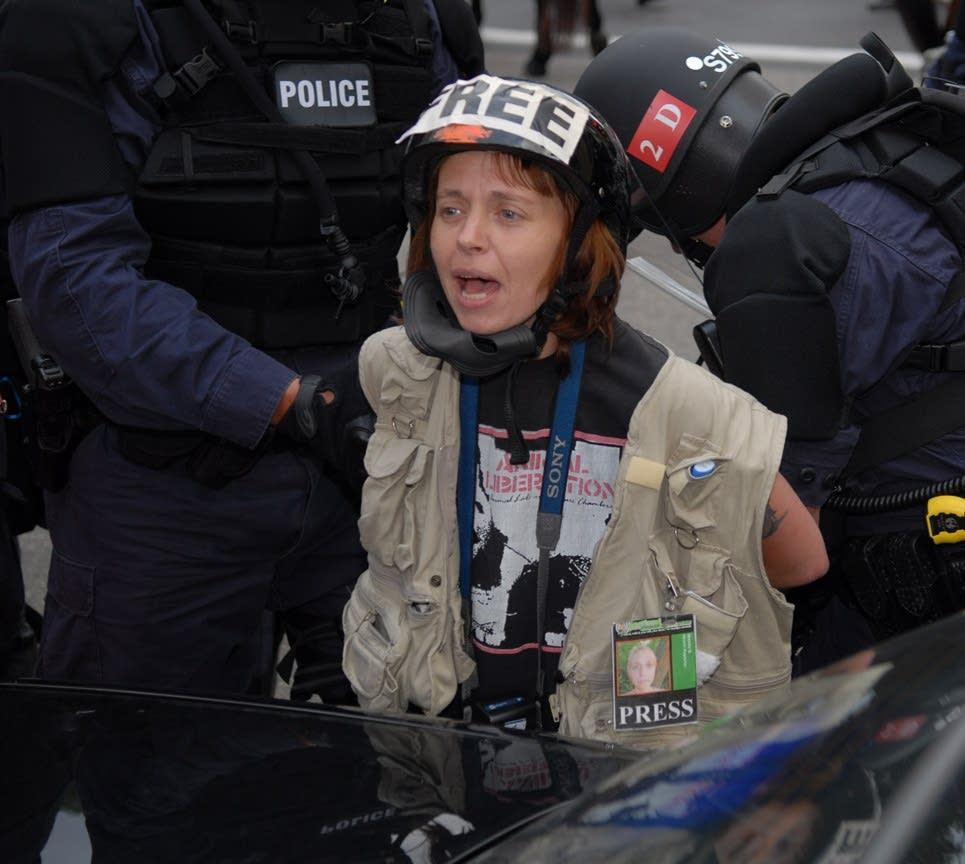 Mears Park Arrest