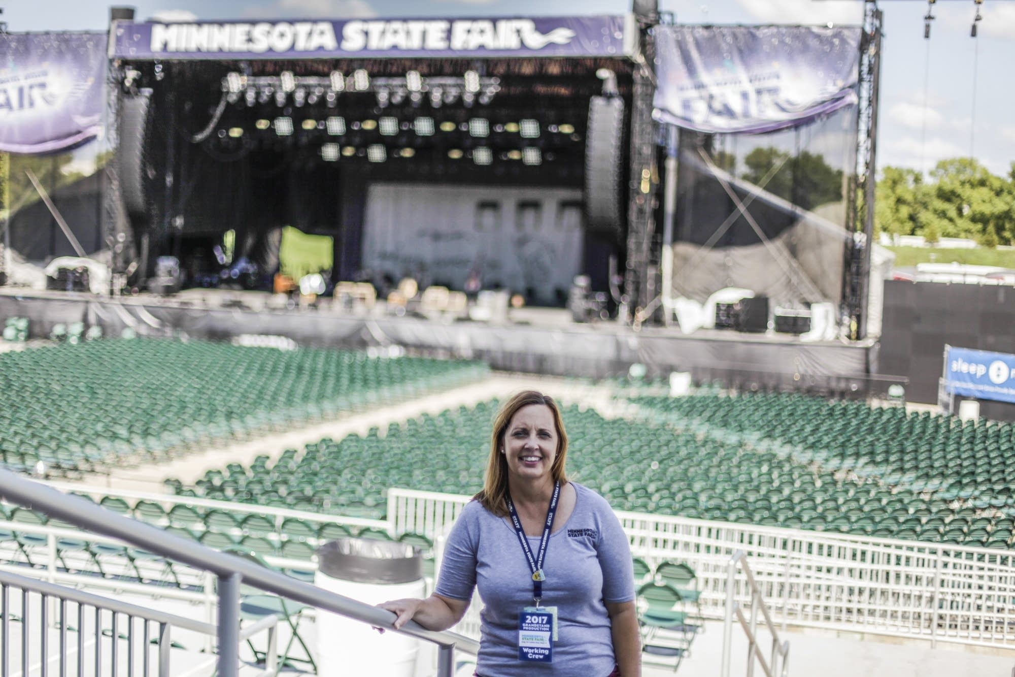 Renee Alexander is the deputy general manager at the Minnesota State Fair