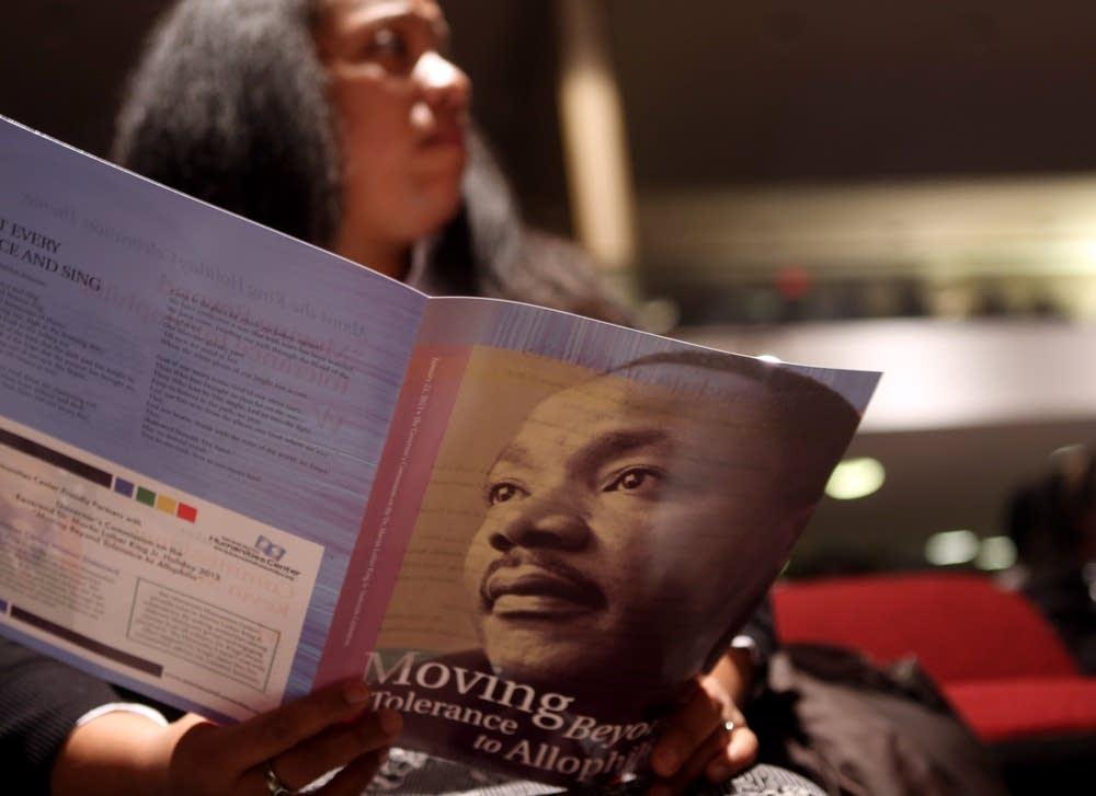 MLK holiday celebration program