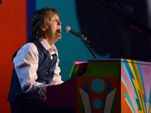 Sir Paul McCartney performs