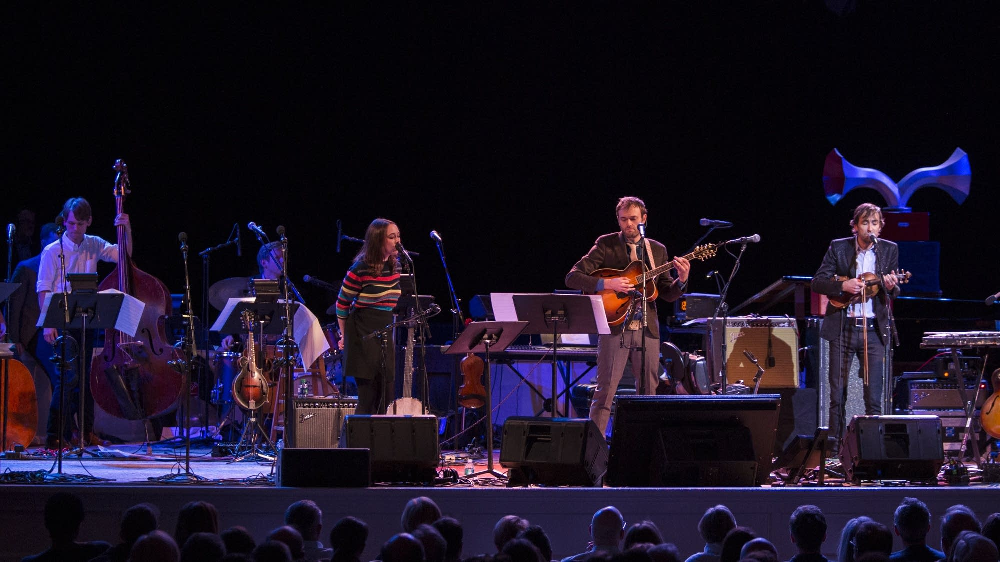 Andrew Bird with Chris Thile and Sarah Jarosz