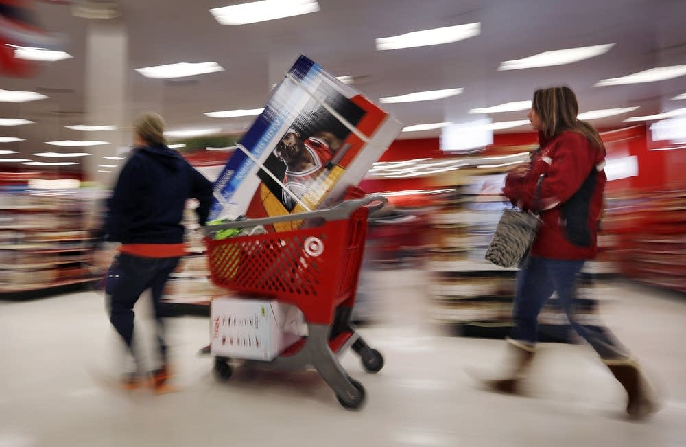 Target shoppers