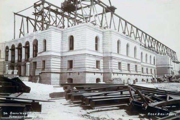 Capitol construction, June 1, 1899