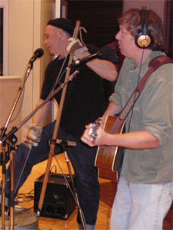 Bassist Brad Ptacek and guitarist Steve Kaul