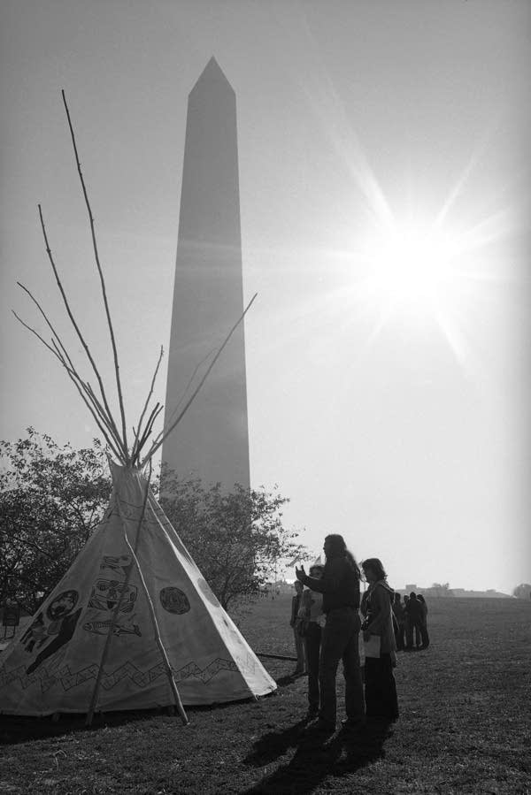Members of the American Indian Movement