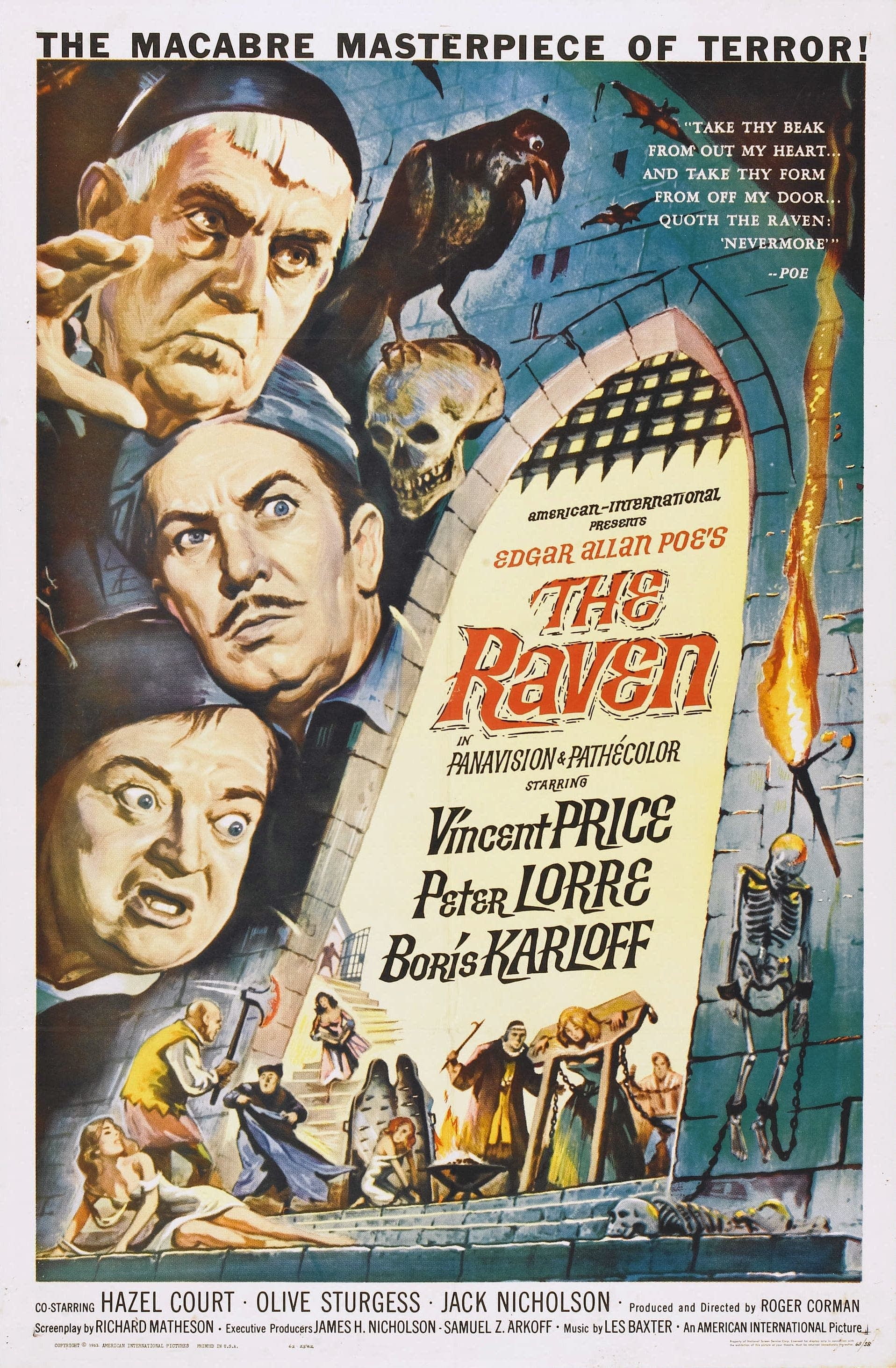 The Raven promotional poster
