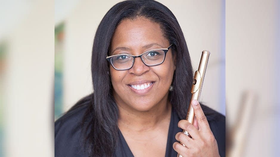 Valerie Coleman is an American flutist and composer.
