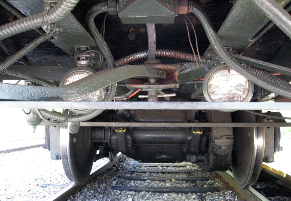 Streetcar undercarriage
