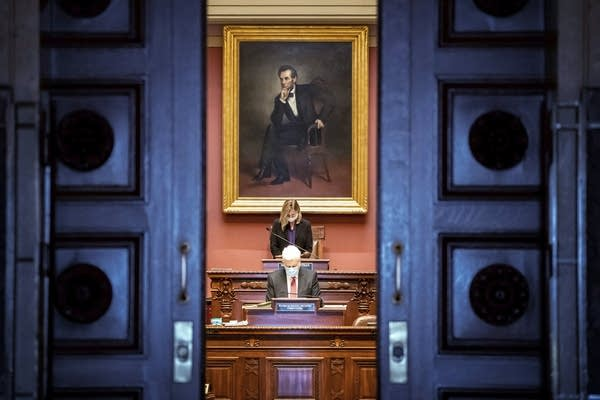 Democratic House Speaker Melissa Hortman