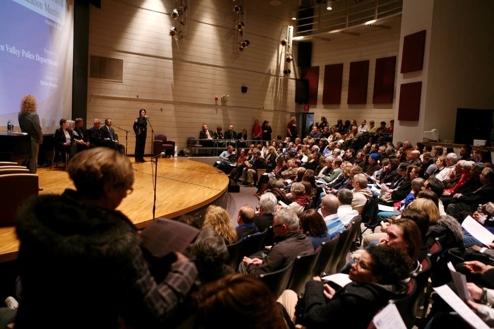 Full auditorium