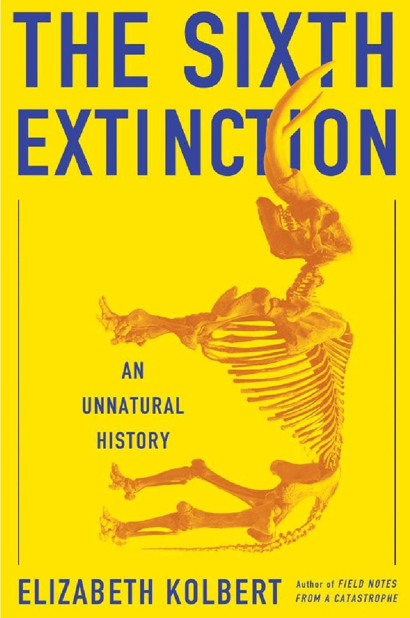 'The Sixth Extinction' by Elizabeth Kolbert