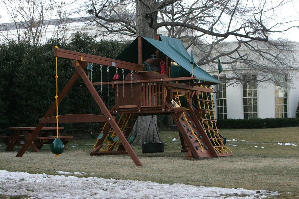 Swing set at White House
