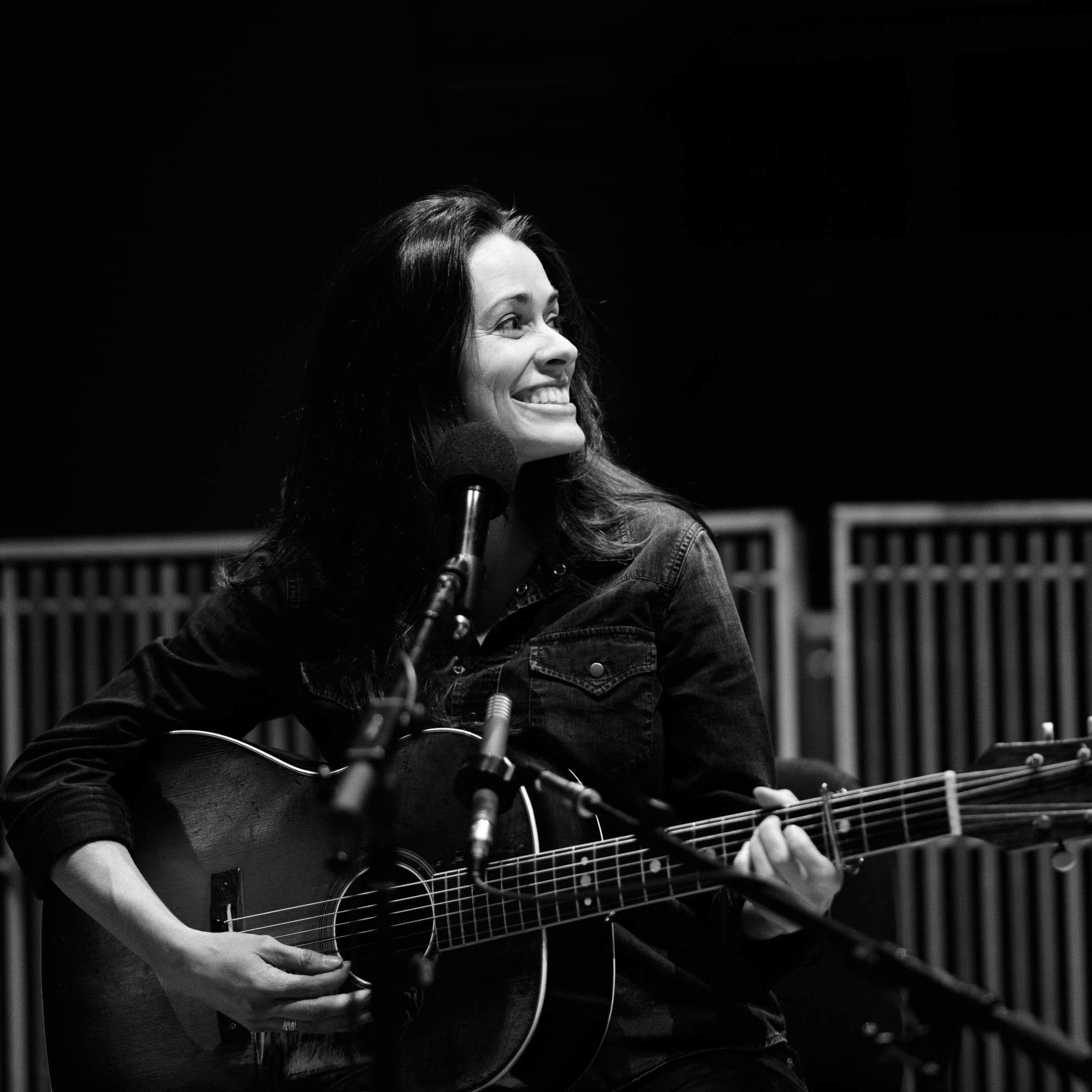 Caitlin Canty performs at Radio Heartland