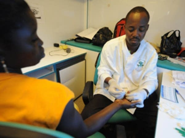 Health workers battle AIDS