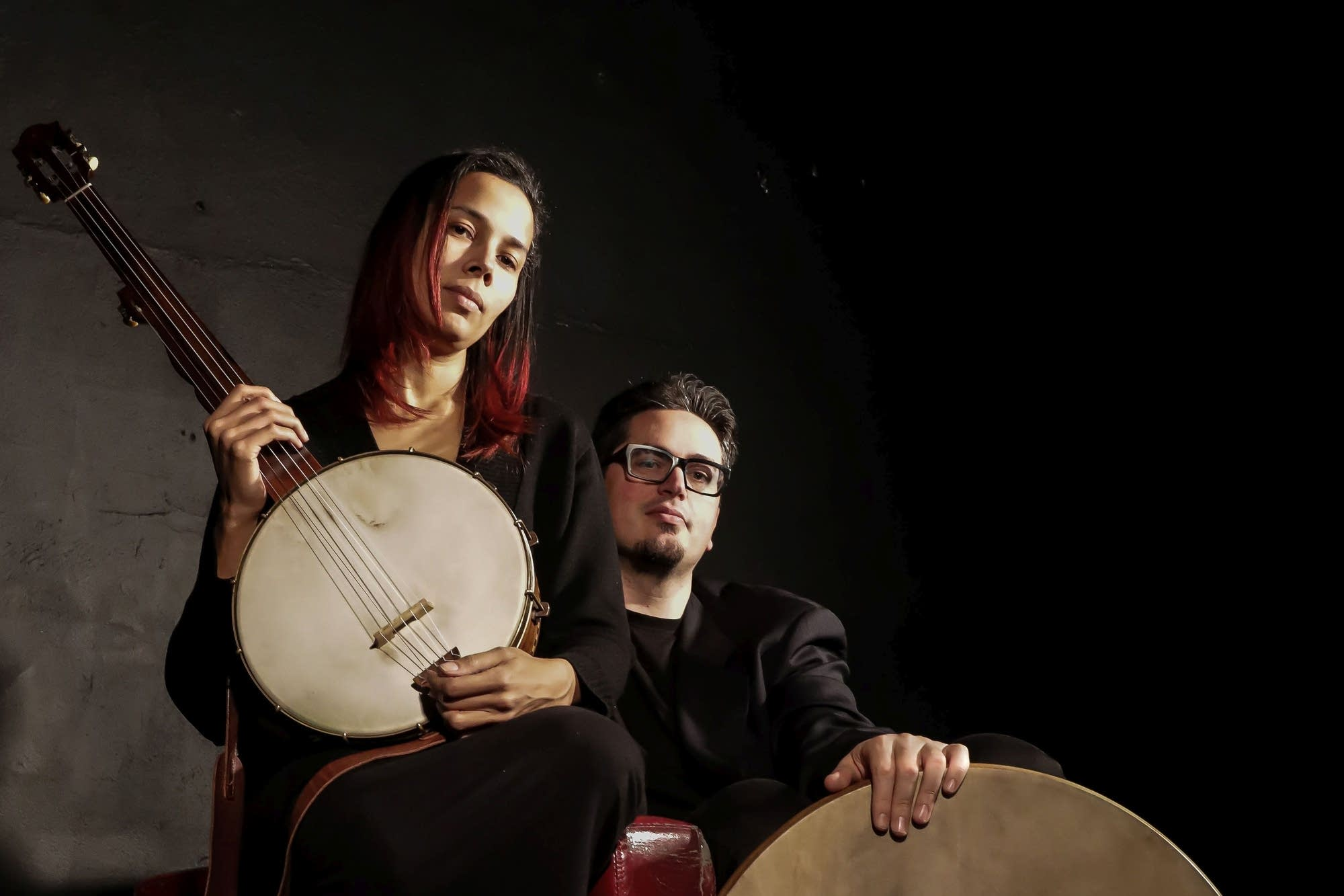 Rhiannon Giddens and Francesco Turrisi (web crop)