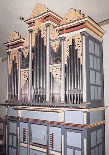 1982 Harrold organ at the Alfred Hertz Memorial Hall, University of...
