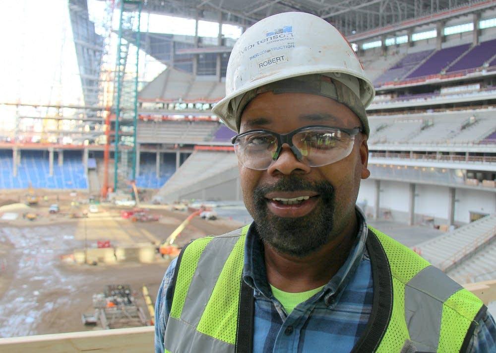 Stadium carpenter Robert Johnson