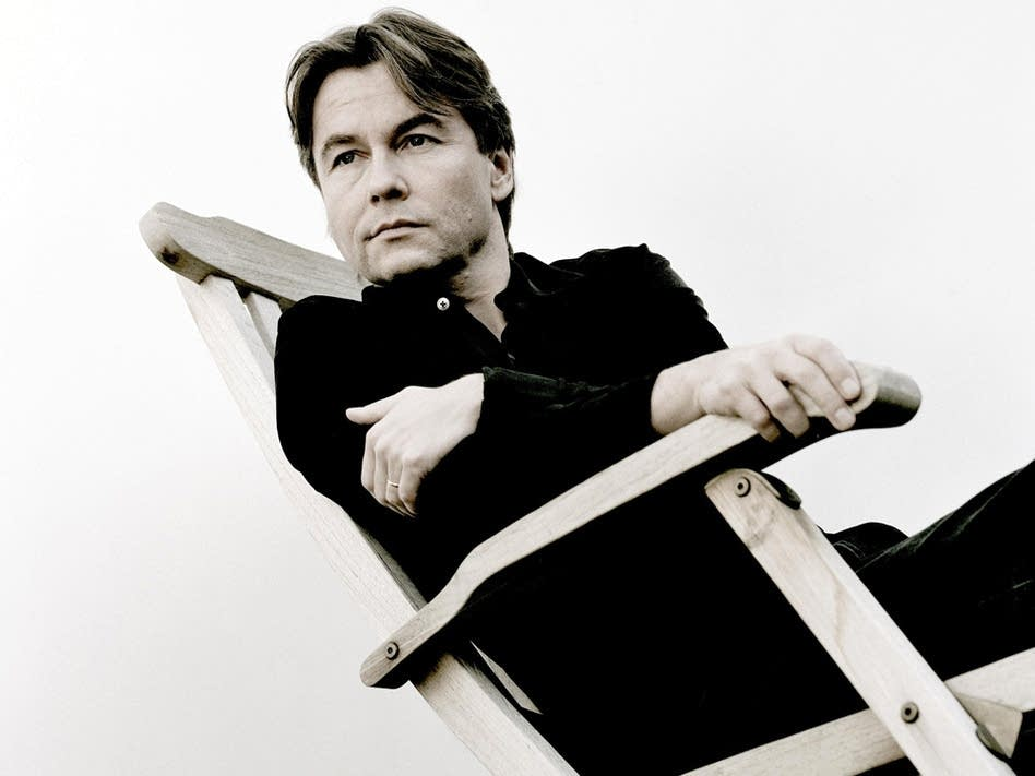 Composer-conductor Esa-Pekka Salonen