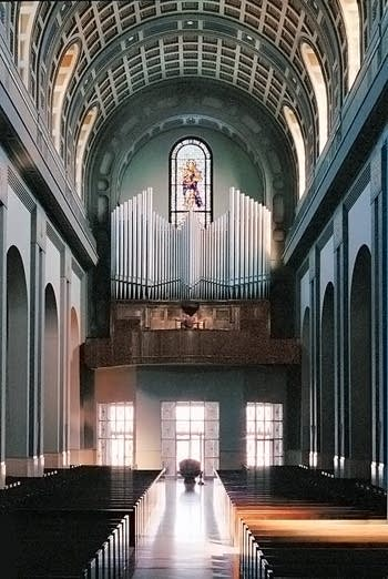 1931 Steinmeyer organ at the Cathedral of the Blessed Sacrament, Altoona, Pennsylvania