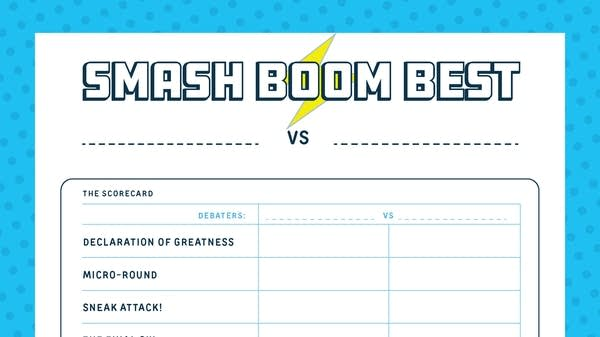 Smash Boom Best Scoresheet