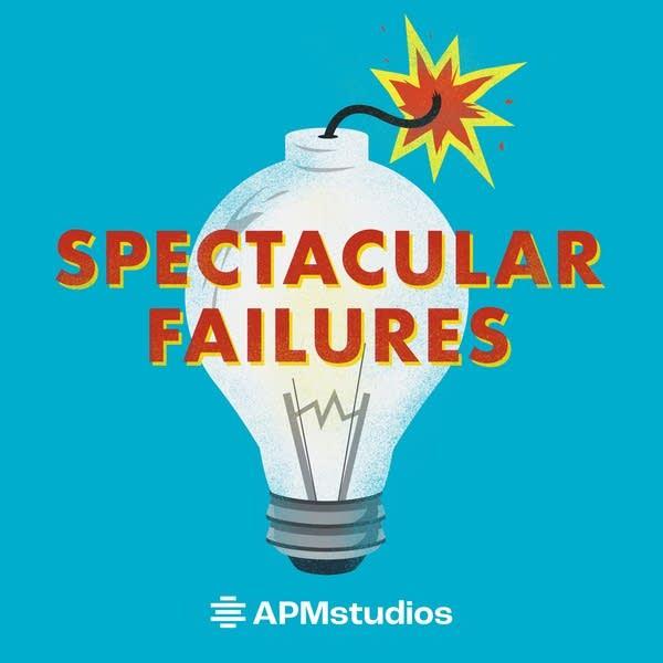 Spectacular Failures - APM Studios Podcast Art