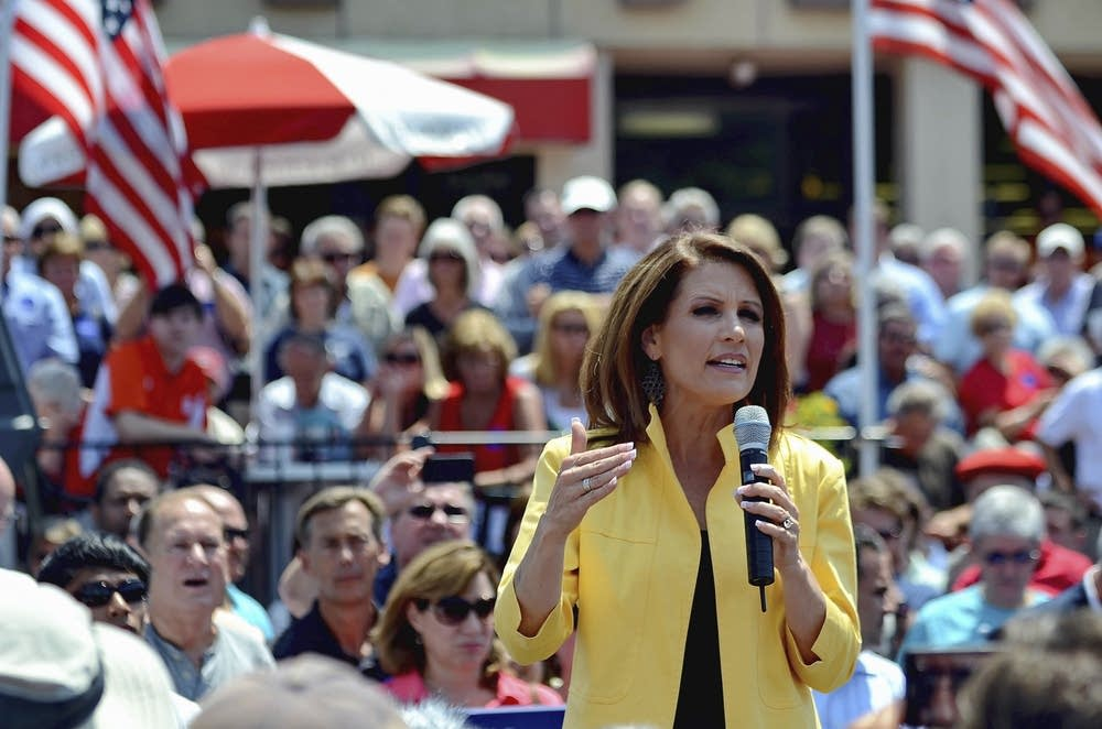 Bachmann in South Carolina
