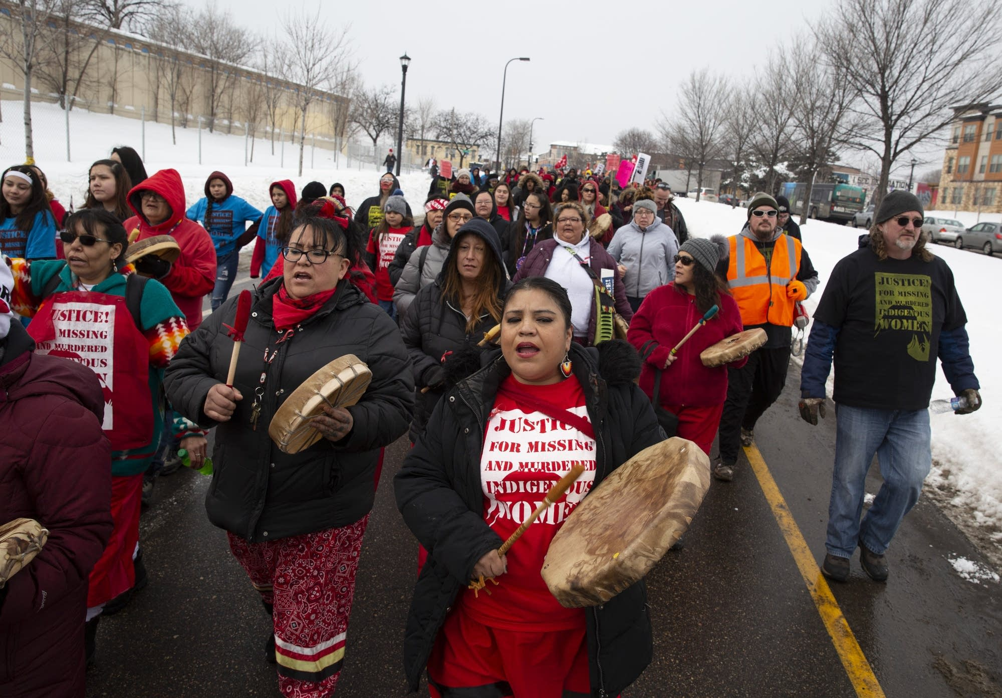 Thousands take part in the Missing and Murdered Indigenous Peoples March.