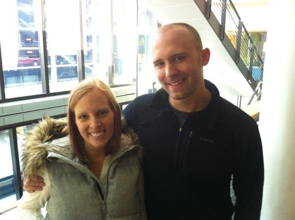 Jenna and James Vancura