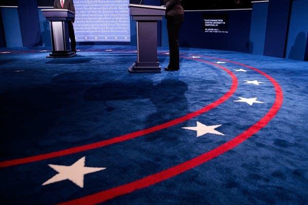 First presidential debate, 2016