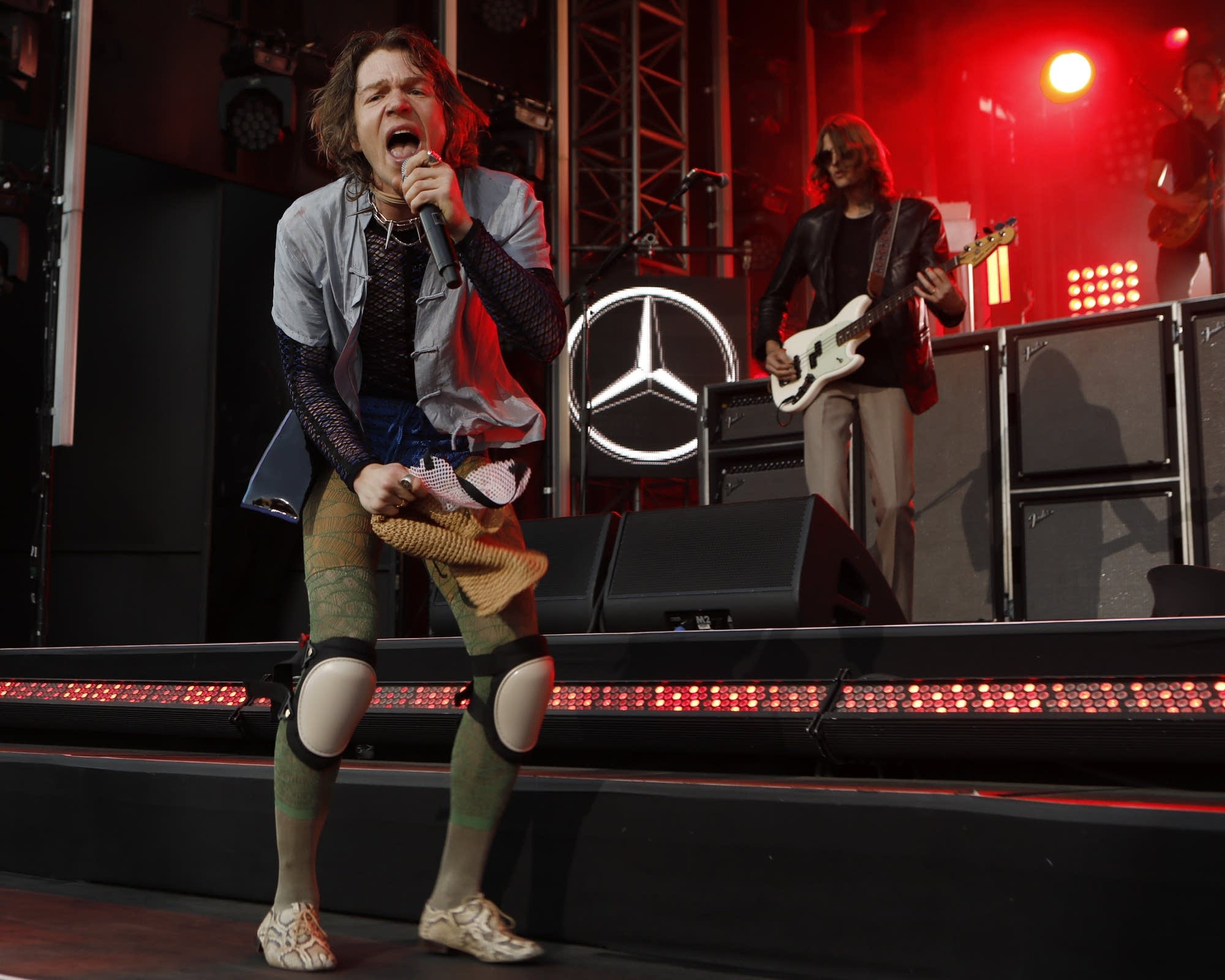 Cage The Elephant perform on 'Jimmy Kimmel Live!'