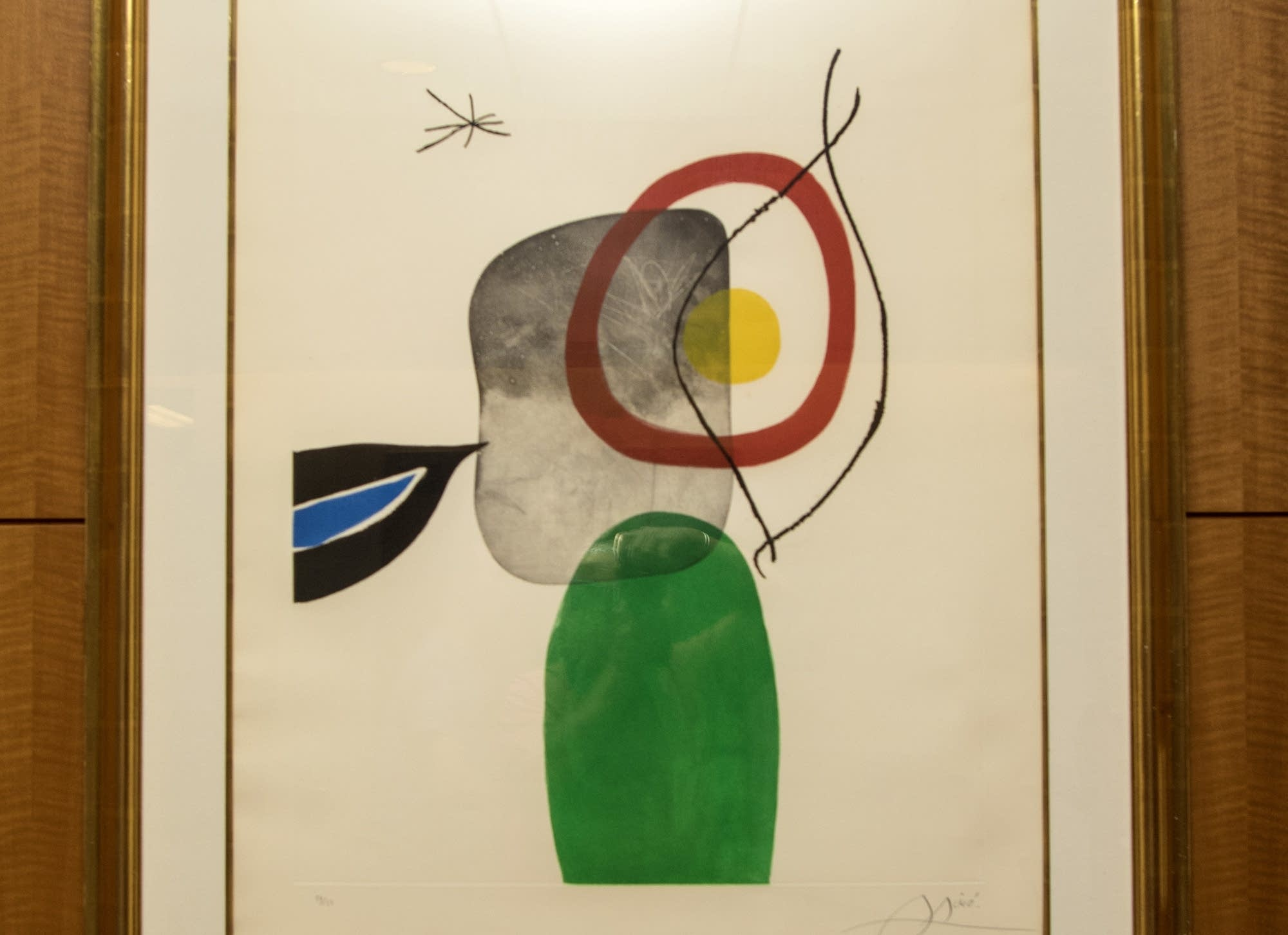 The Archer by Joan Miro