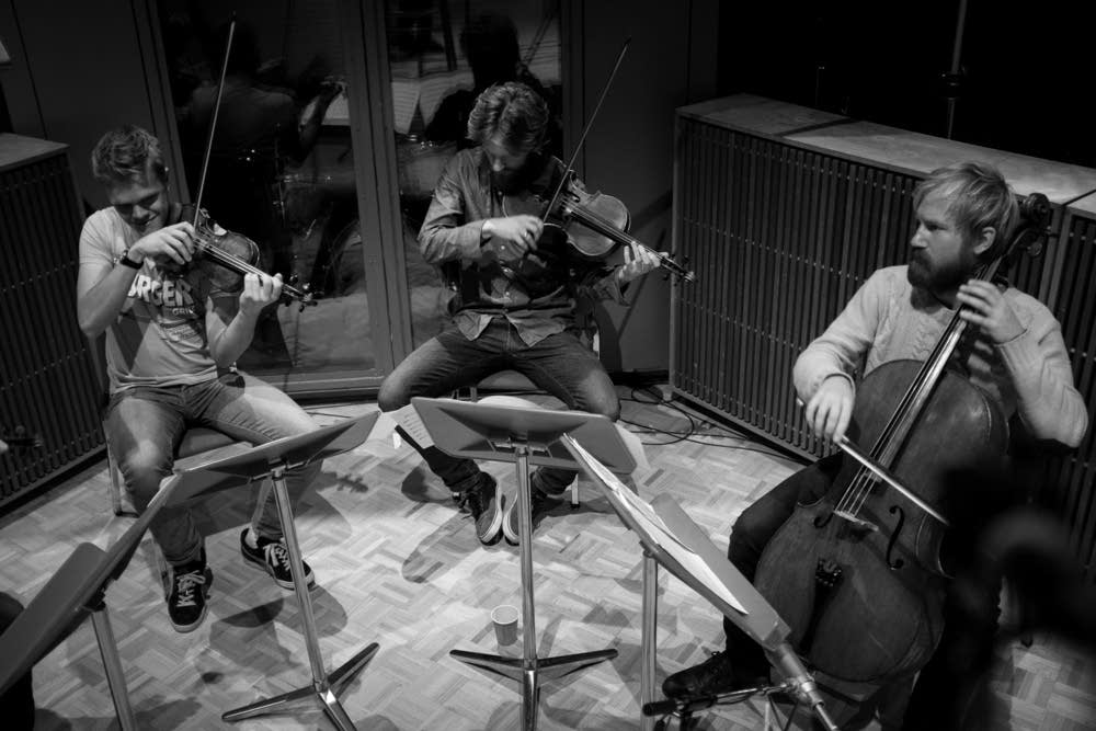 In studio with the Danish String Quartet | Classical MPR
