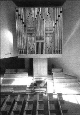 The 1977 Klais organ at Saint Peter's Lutheran Church, New York, NY