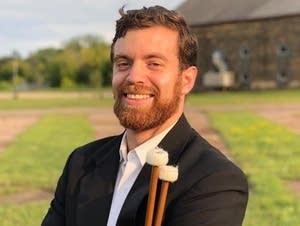 Timpanist Erich Rieppel